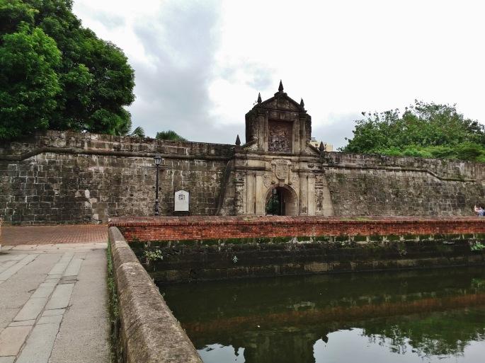 Fort Santiago moat