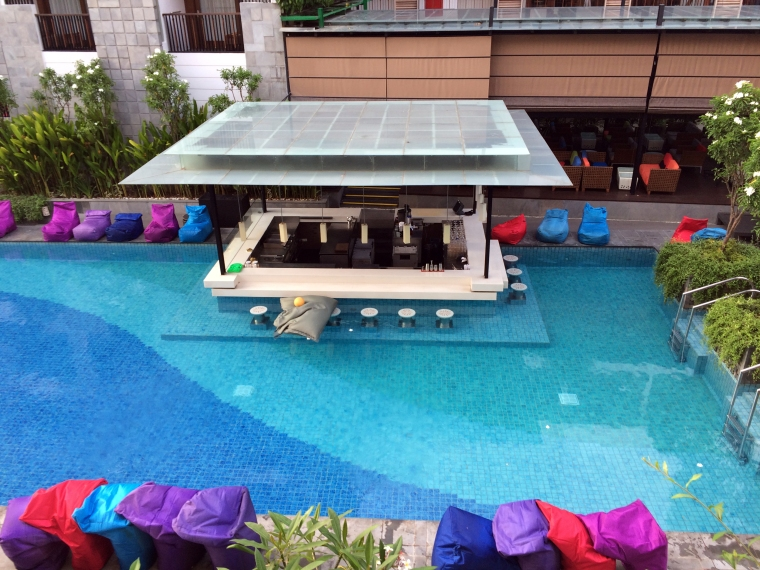 Courtyard by Marriott Bali Pool Bar Morning.JPG