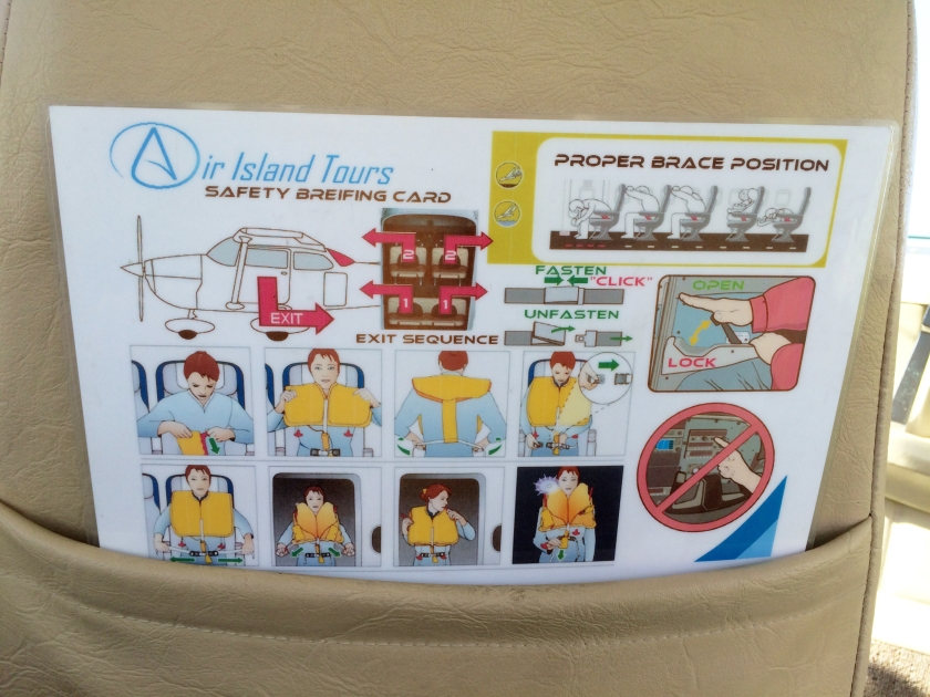 Air Island Tours safety instructions.JPG
