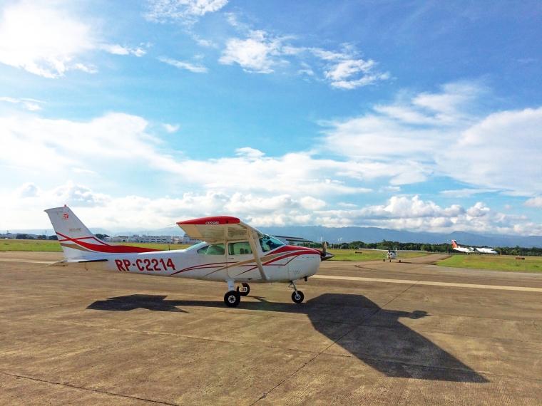 Cessna 172 in Mactan Airport.JPG