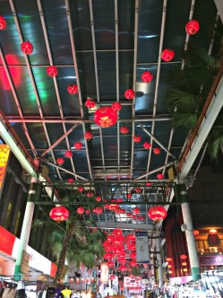 Chinatown KL lights