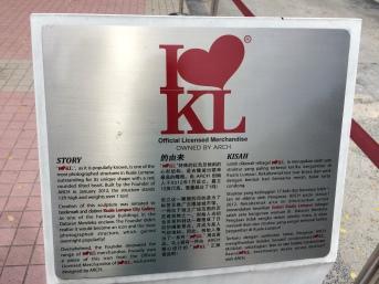 I love KL Sign Desc
