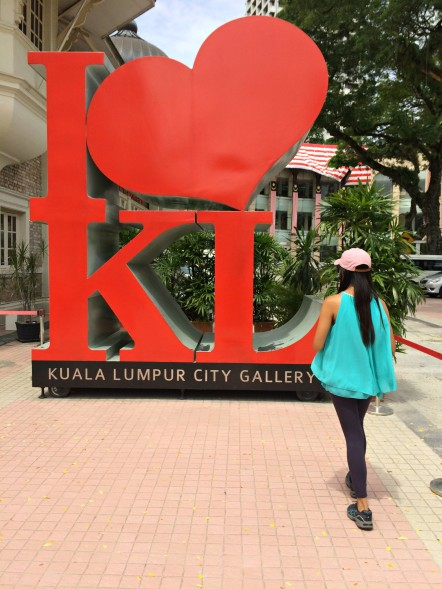 I love KL Sign