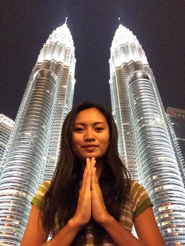 Petronas Towers Sarah