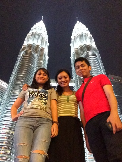 Petronas Towers with friends