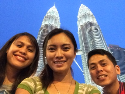 Petronas Towers with my friends