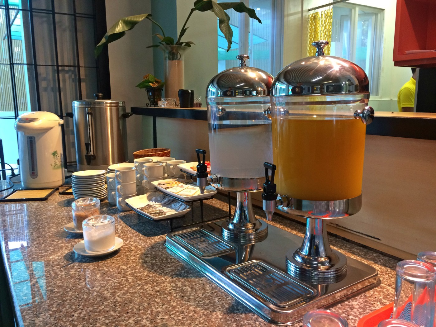 Sea Cocoon Hotel Breakfast Drinks