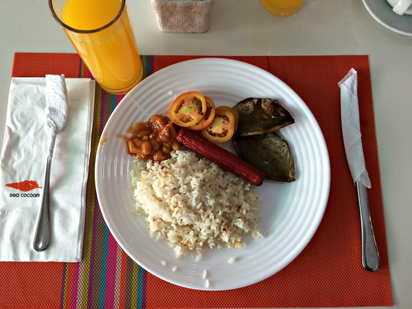 Sea Cocoon Hotel Breakfast