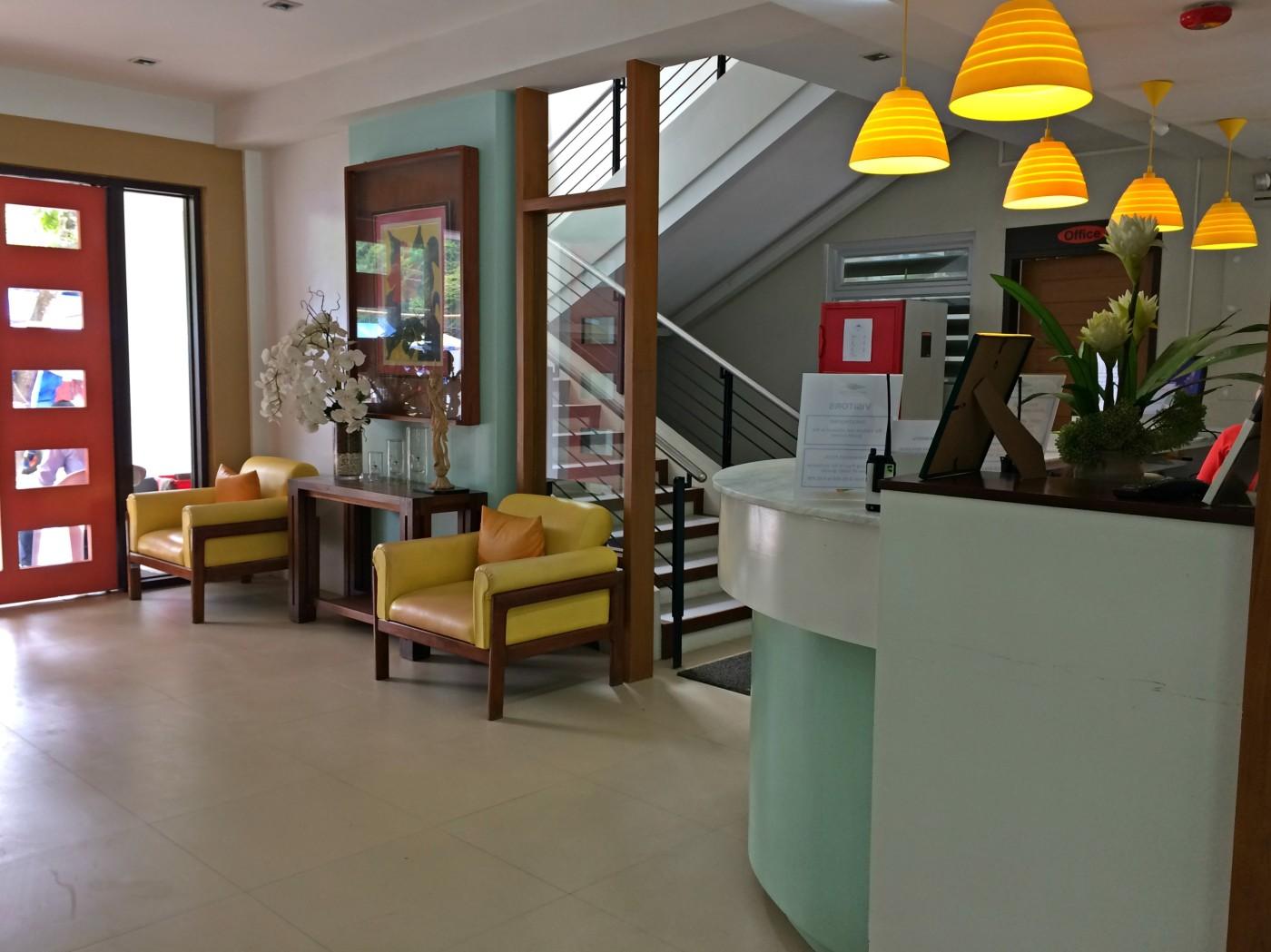 Sea Cocoon Hotel Reception