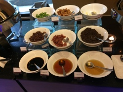 Puso Bistrot Condiments