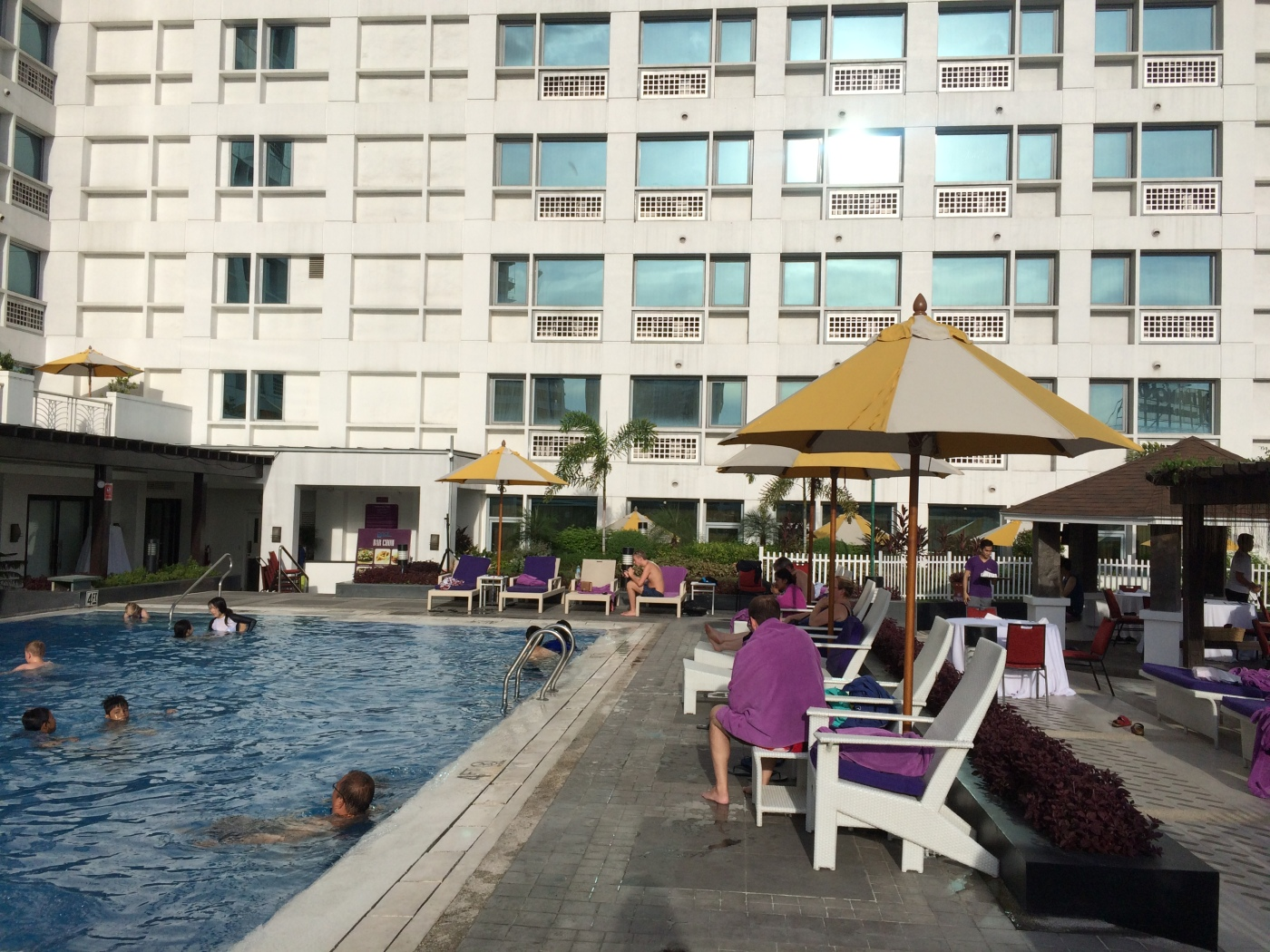 Quest Hotel Pool Area