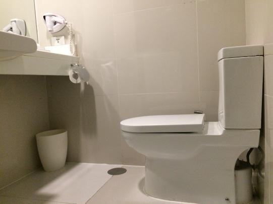 Quest Hotel Toilet