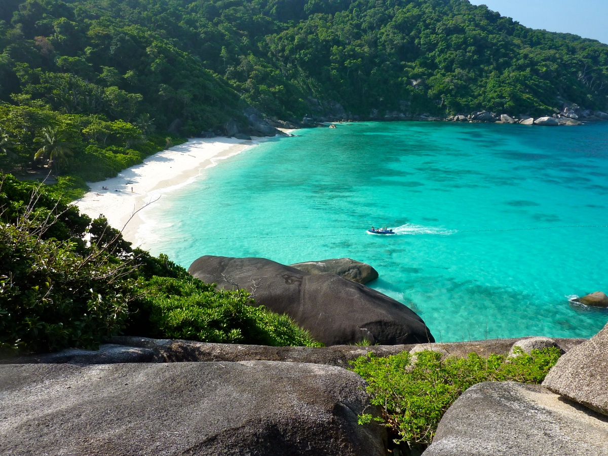 Major hideaways and romantic retreats in Thailand