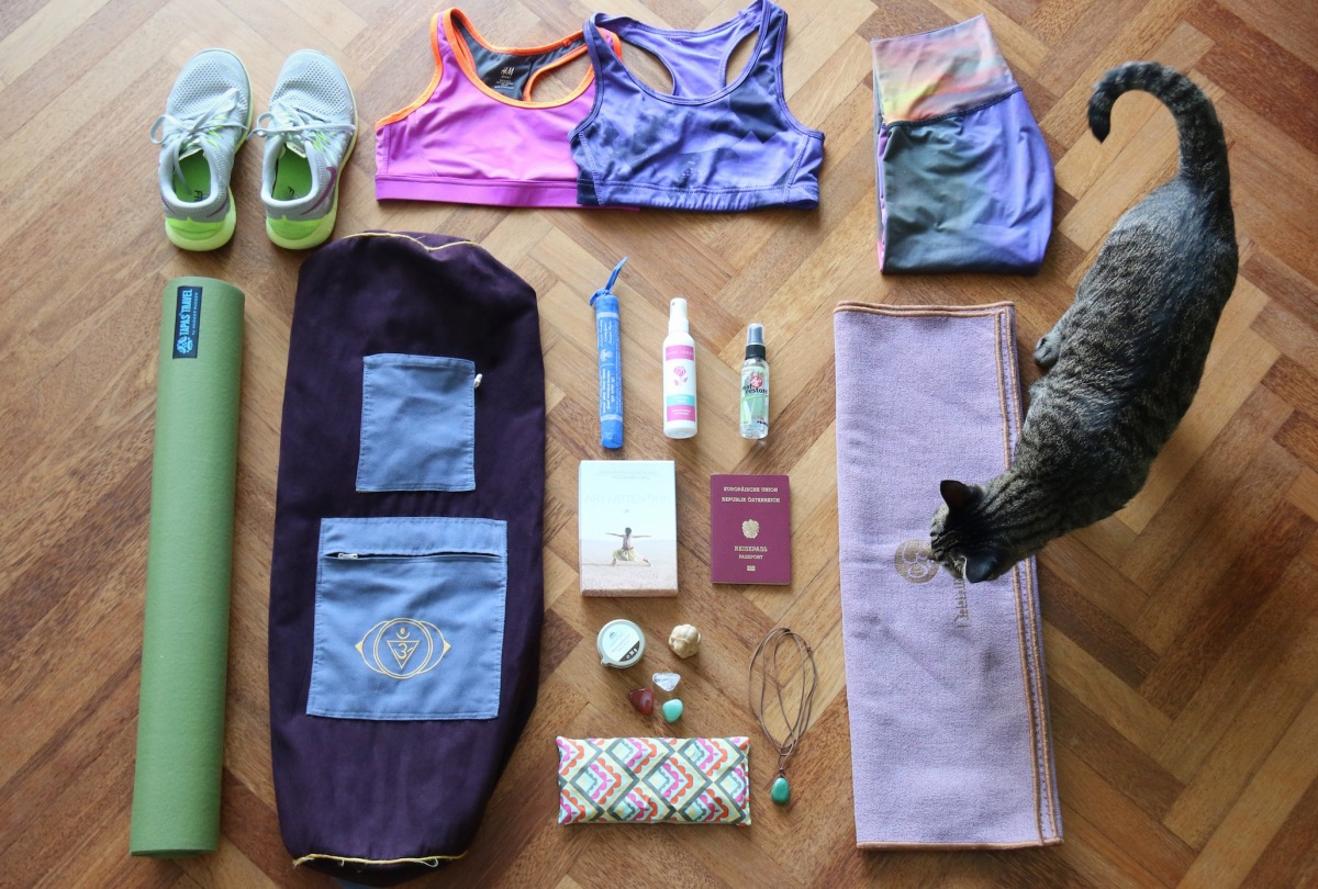Traveling with a yoga mat: Travel essentials