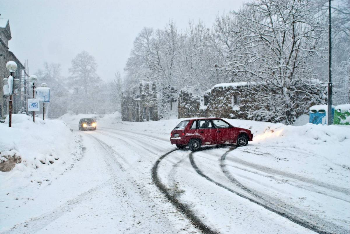 Winter accident