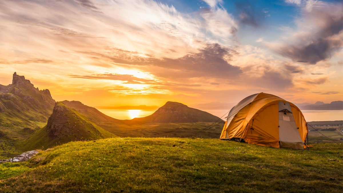 Things to remember when wild camping in Scotland