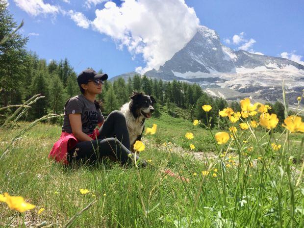 Matterhorn with doggie