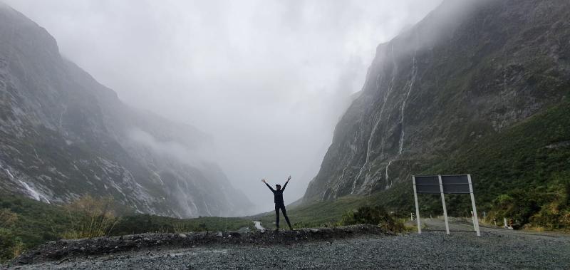 Rainy fjords